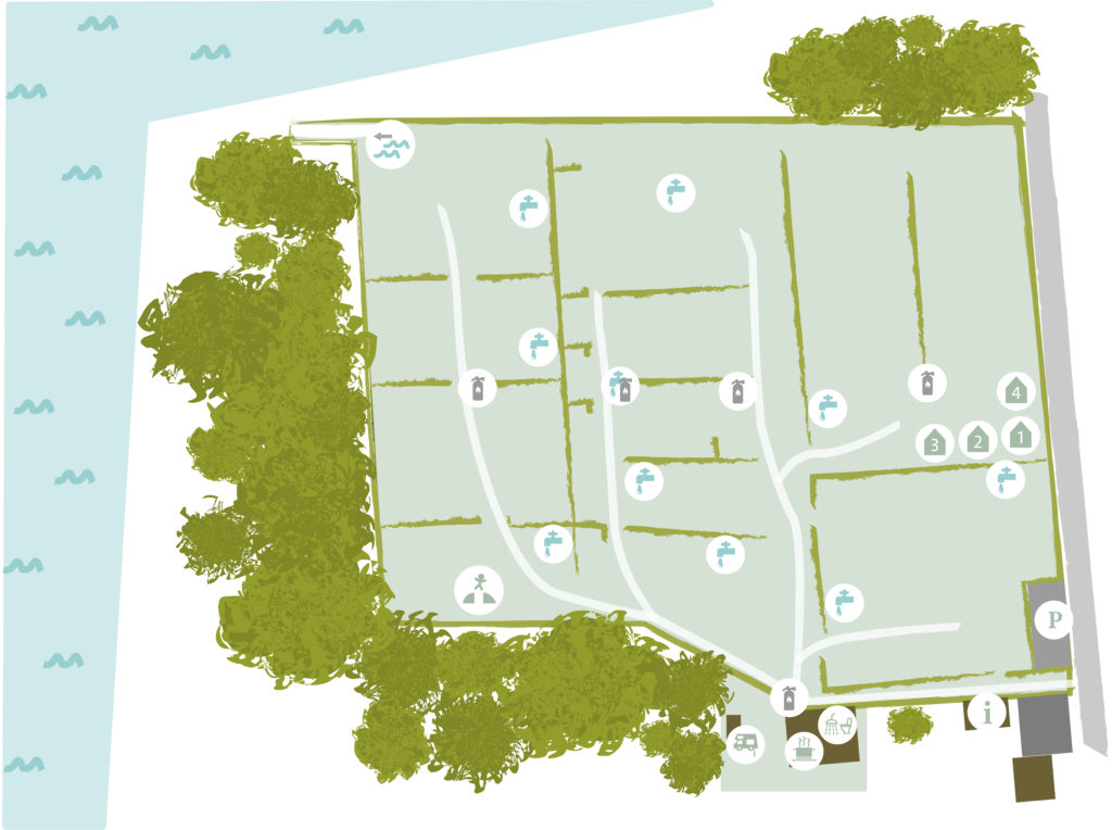 Hertugbyens Camping pladskort